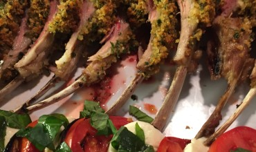 Rack of lamb - family style